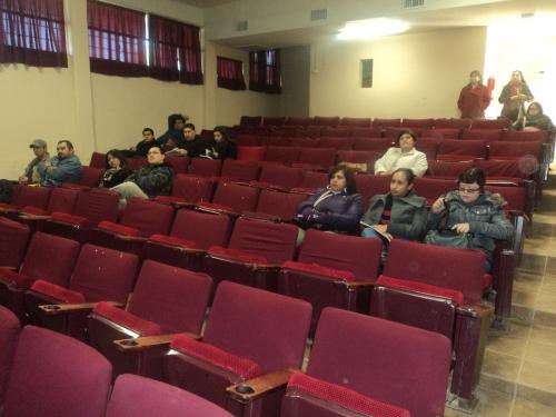 Docentes asistentes a la conferencia