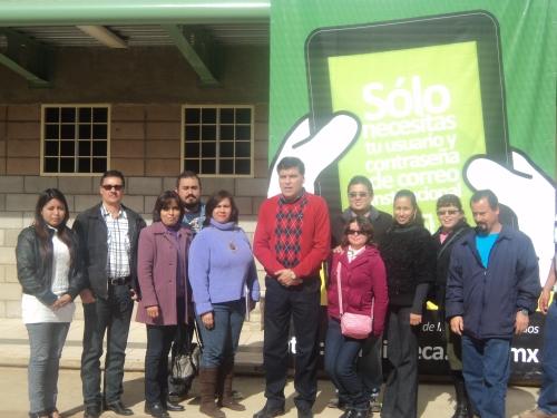 Docentes de Cbta No. 146 que participarón en el taller interactivo.